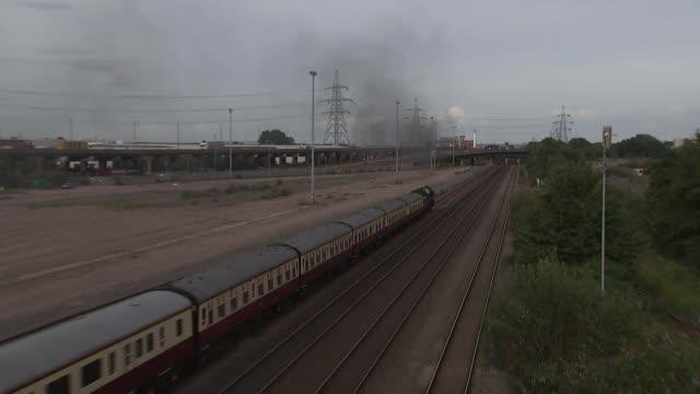 Government announces review of HS2 ENGLAND West Midlands Birmingham Steam train away