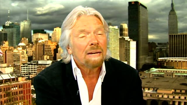 government withdraws west coast franchise tender usa new york int sir richard branson interview sot he rang me last night/ we were extremely grateful... - income tax stock videos and b-roll footage