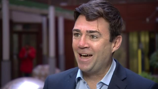 hs2 could cost over £100 billion says leaked report england manchester ext andy burnham interview sot same old story isn't it from london to... - ohio stock videos & royalty-free footage
