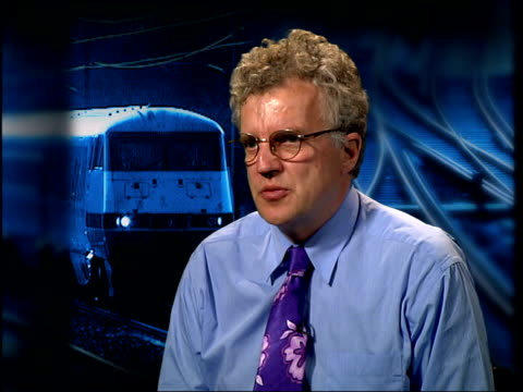 road death concerns; itn london: gir: christian wolmar interviewed sot - major accident unlikely in the next few years as result of this decision - major road点の映像素材/bロール