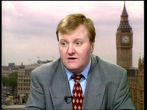Rail sleeper service cuts delayed INT London Westminster CMS Charles Kennedy MP intvwd SOT The service can be strengthened and developed/ with the...