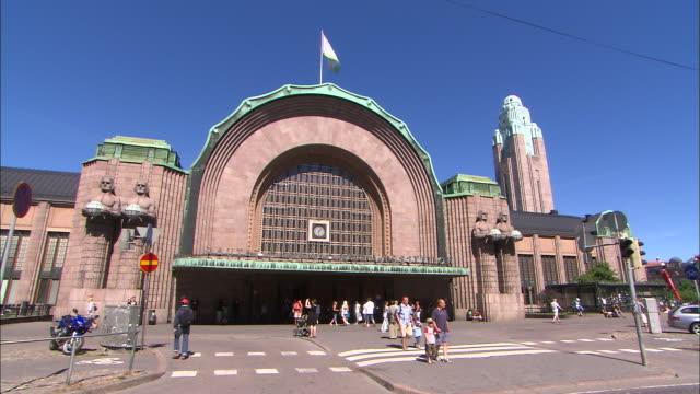 Rail Station, Helsinki, Finland