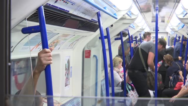 victoria line's 50th anniversary general views of green park and victoria line england london green park underground station int various of victoria... - victoria park london stock videos & royalty-free footage
