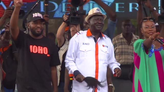 raila odinga kenya's veteran opposition leader and one time prime minister has chosen to sit out thursday's presidential election re run a move that... - thursday stock videos & royalty-free footage