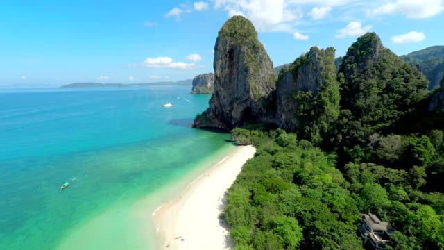 railey beach - krabi province stock videos & royalty-free footage