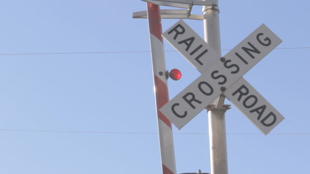 Railroad Crossing sign 1