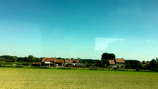 railroad in brussels - train point of view stock videos & royalty-free footage