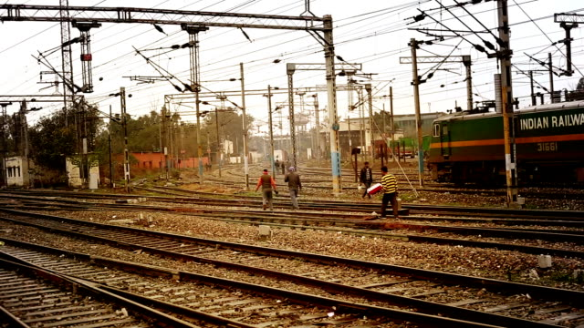 railroad junction railway line - railway junction stock videos & royalty-free footage