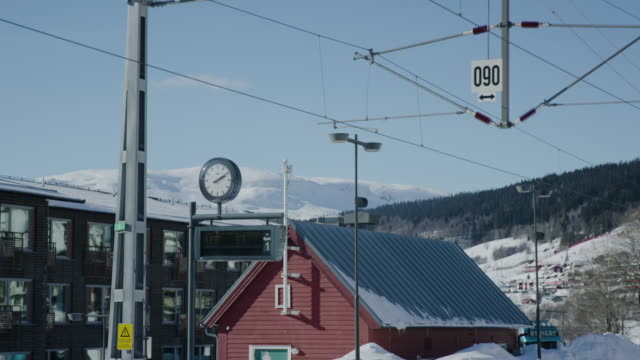 railroad station, åre - railway station stock videos & royalty-free footage