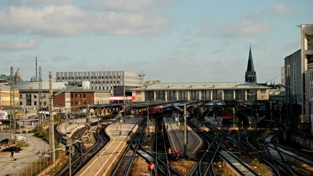 Bahnhof Wien-Zeitraffer