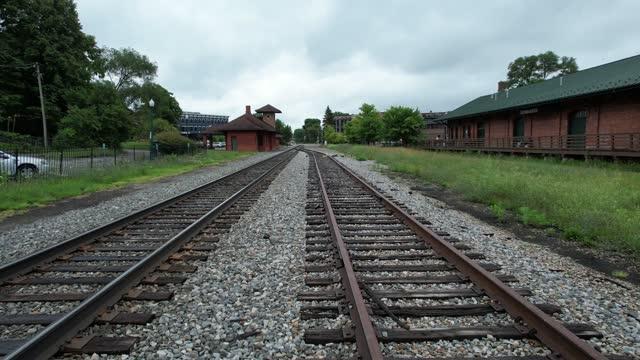 vidéos et rushes de chemin de fer à ypsilanti - ypsilanti