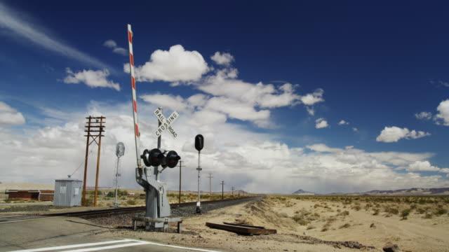 Railroad Track at Mojave Dessert