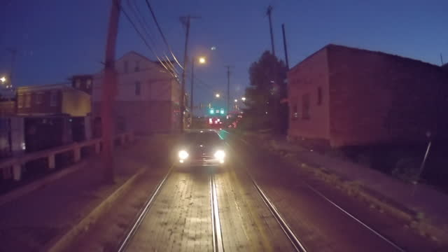 railroad track in pittsburgh - urban road stock videos & royalty-free footage