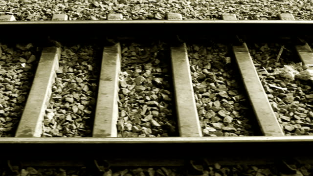 railroad track - zugperspektive stock-videos und b-roll-filmmaterial