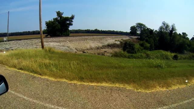 Railroad Tracks in the Mississippi River Delta