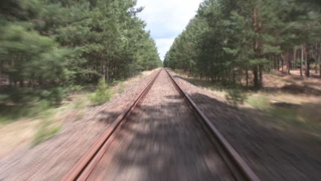 railroad - railroad track stock videos & royalty-free footage