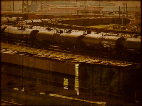 railroad yard - shunting yard stock videos and b-roll footage
