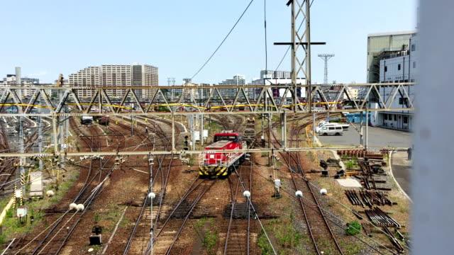東京の電車と鉄道 - 操車場点の映像素材/bロール