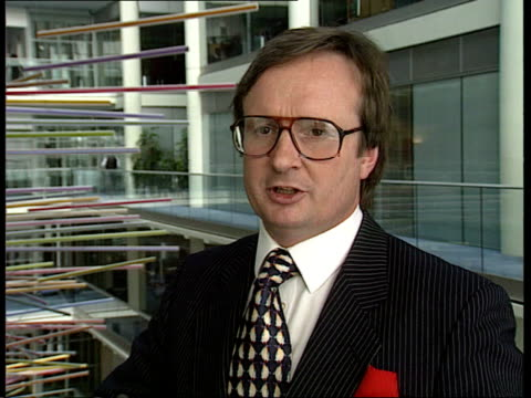 Railtrack privatisation ITN Justin Urquhart Stewart intvwd SOT