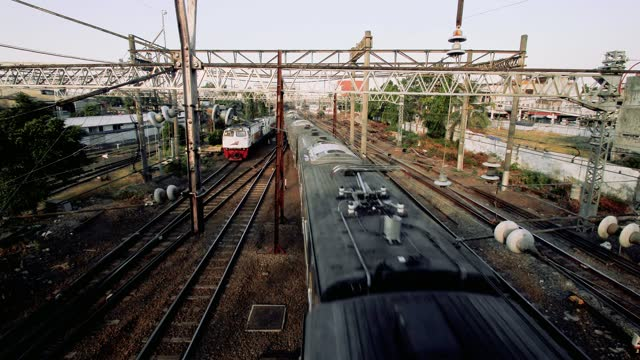 railway activity - commuter train stock videos & royalty-free footage