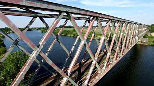 railway bridge - stainless steel stock videos & royalty-free footage