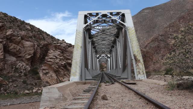 railway in argentina - アルゼンチン文化点の映像素材/bロール