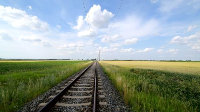 railway in summer, - オーストリア点の映像素材/bロール