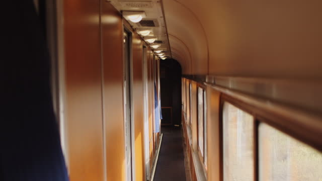 Railway Sleeper Carriage Interior
