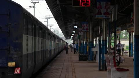 railway station platform - railway station stock videos & royalty-free footage