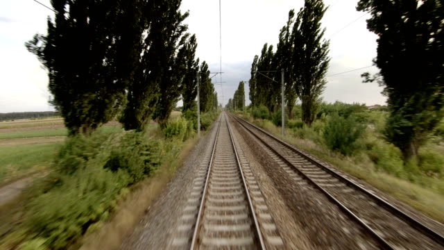 railway time lapse - diminishing perspective stock videos & royalty-free footage