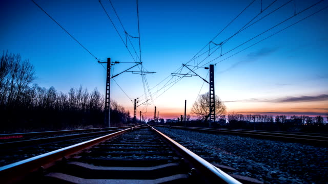 railway - railroad track stock videos & royalty-free footage