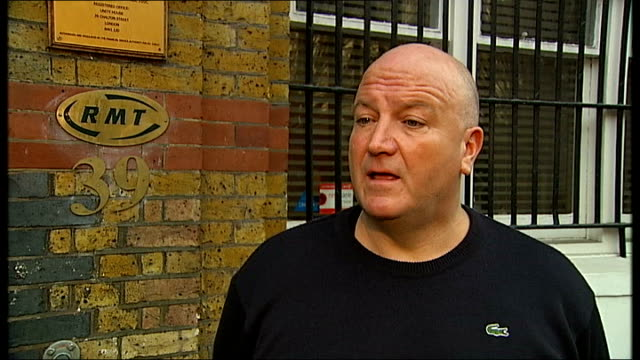government announces efficiency savings london bob crow interview sot talks of passengers paying more money to use a faceless railway reporter to... - ファイサル・イスラム点の映像素材/bロール