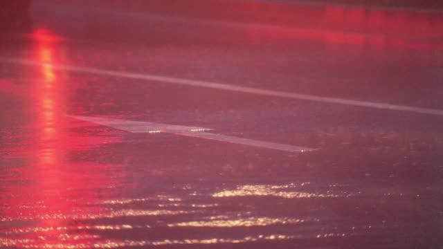 rain beating against road, tokyo, japan - gale stock videos & royalty-free footage