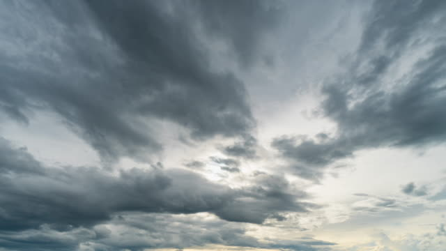 rain clouds and sky moving 4k time lapse. - high section stock videos & royalty-free footage