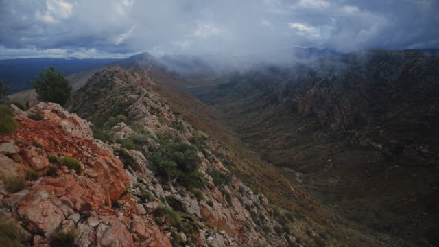 rain comes to west macdonnell ranges - outback stock videos & royalty-free footage