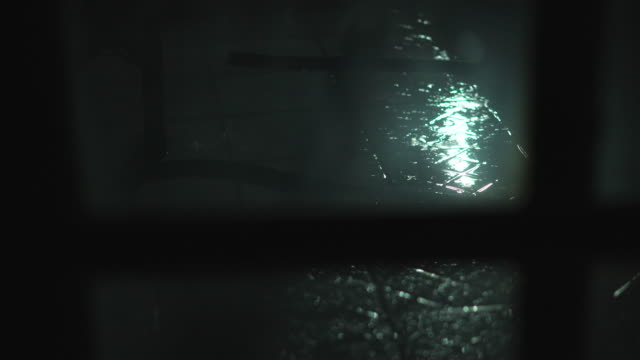 rain fall on tile floor at night truck shot - slippery stock videos & royalty-free footage