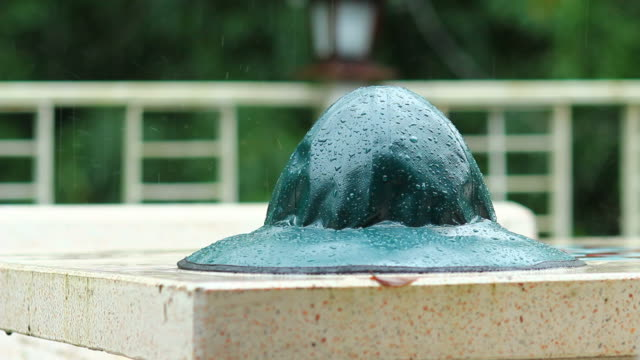 rain hat wet - rubber stock videos and b-roll footage