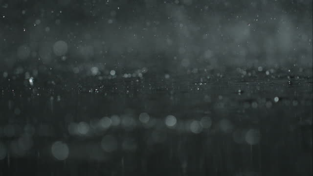 rain on black - soft focus stock videos & royalty-free footage