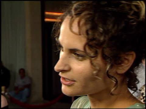 rain phoenix at the 'o' premiere at century plaza in century city, california on august 27, 2001. - century plaza stock videos & royalty-free footage