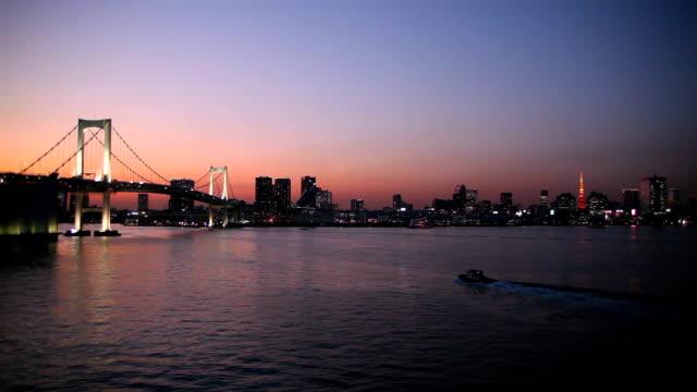 レインボーブリッジや東京タワー