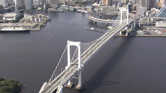 AERIAL, Rainbow Bridge, Tokyo, Japan