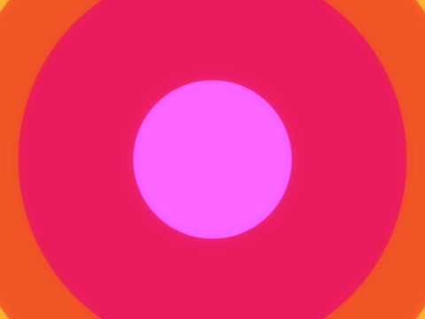 rainbow circle wipe. pal (with alpha) - animation moving image stock videos & royalty-free footage