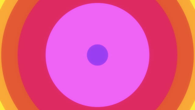 rainbow circle wipe. (with alpha) - man made object stock videos & royalty-free footage
