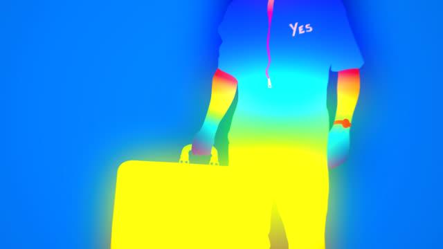 rainbow designer - domination stock videos and b-roll footage