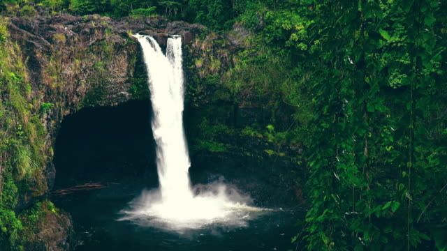 Rainbow Falls in Hilo on the Big Island of Hawaii