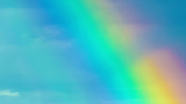 rainbow in the nature - rainbow stock videos & royalty-free footage