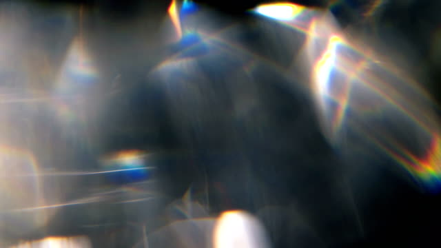 rainbow prism motion background - visual effect stock videos & royalty-free footage