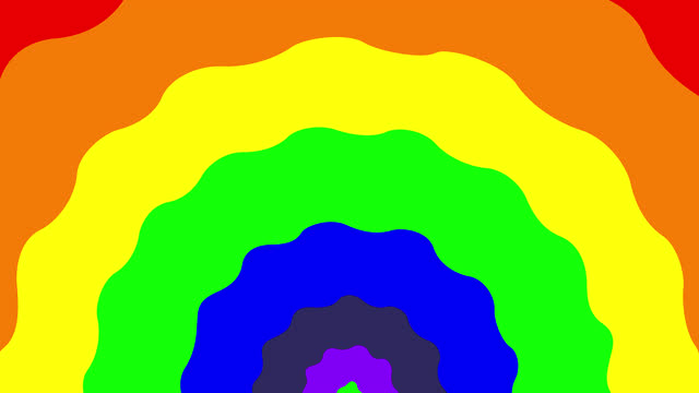 rainbow. quick opening the screen transition transparent. - positive emotion stock videos & royalty-free footage