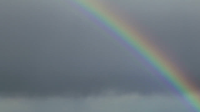 Rainbow, timelapse
