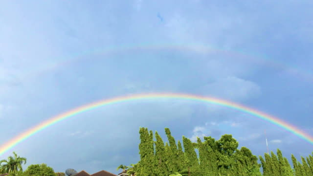 rainbow - rainbow stock videos & royalty-free footage